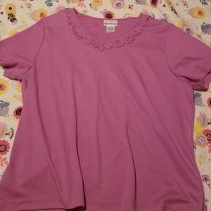 Orchid tee *NWOT